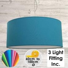 Peacock Drum Ceiling Light